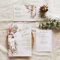 Coco | Printed Wedding Invitation Set