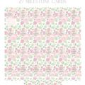 Springtime Peony personalised milestone cards