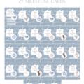 Wonderlove personalised milestone cards