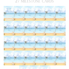 Love You Forever personalised milestone cards