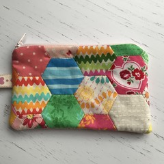 """NOTIONS/ SEWING KIT /MENDING POUCH 6""""x4"""""""