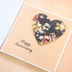 Happy Anniversary Card, Parents, Husband, Wife, Mum & Dad, Boyfriend, Girlfriend