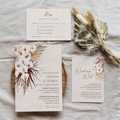 Marrakesh   Printed Wedding Invitation Set
