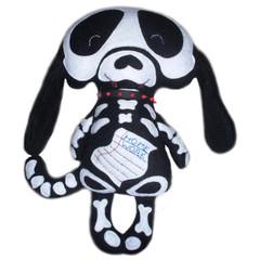 Skelly Dog (skeleton softie)