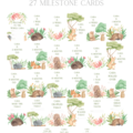 Australiana personalised milestone cards