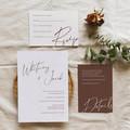 Hawthorne | Printed Wedding Invitation Set