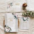 Casablanca | Printed Wedding Invitation Set