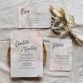 Seville | Printed Wedding Invitation Set