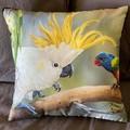 Wild Birds Throw Cushion
