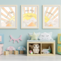 Here Comes the Sun Personalised Wall Prints