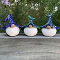 Gnome trio - Otto, Puddin & Quiggly