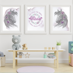 Wild and Free Personalised Wall Prints