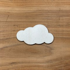 Lone cloud plywood blank shape unfinished - various sizes