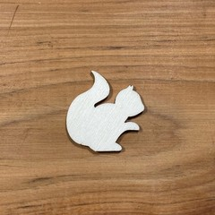 Squirrel plywood blank shape unfinished - various sizes