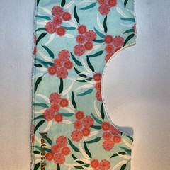 Burp Cloth | Eucalyptus Floral on Blue