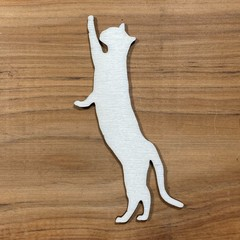Cat or kitten plywood blank shape unfinished - various sizes