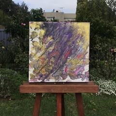"""'Thorns' Deep Edge Canvas 16x16"""""""