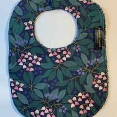 Baby Bib | Blueberry Ash Blossom NEW style