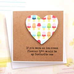 Fun Love Card, You Would Be My Favourite One, Anniversary Card