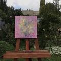 "'Wildberry' Deep Edge Canvas 10x10"""