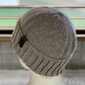 KeepSake Classic Knit Handmade Beanie - Swiss Brown