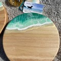 Mint Green Sparkle| Cheese Board Set | Personalised