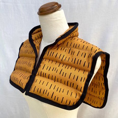 Heat Pack   Mustard with Black Stripes