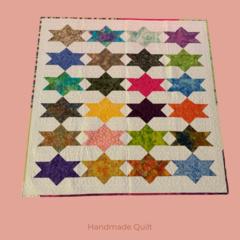 Patchwork Quilt - Square Stars