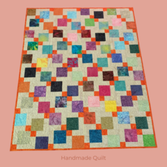 Patchwork Quilt - Cotton Batik