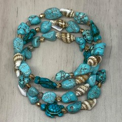 Turquoise Turtle Wrap