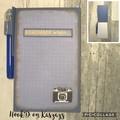 Mini Notebook with  Gel Pen