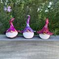 Gnome trio - Xavi, Yoshi & Zaid