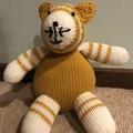 Mustard Cat Soft Teddy