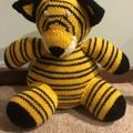 Tiger Soft Teddy