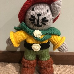 Puss in Boots Soft Teddy