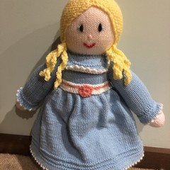 Blue Girl Soft Teddy