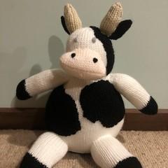 Cow Soft Teddy