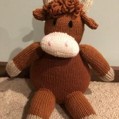 Bull Soft Teddy