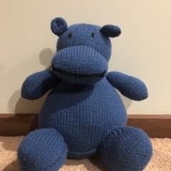 Hippo Soft Teddy
