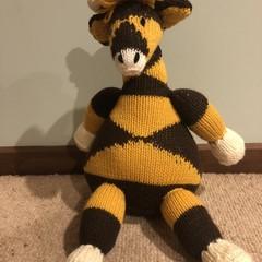 Giraffe Soft Teddy