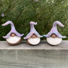 Gnome trio - Dazz, Eli & Fabio