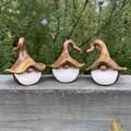 Gnome trio - Ant, Barney & Colton