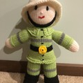 Parks Fire Fighter Soft Teddy