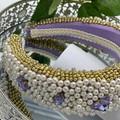 Wedding Pearls Padded Embellished