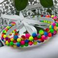 Neon Beads Headband