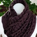 Crochet Braided Ladies Neck warmer