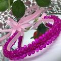 Penelope Glass Beads Headband