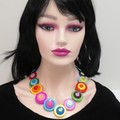 Colourful necklace - Bright and Beautiful