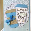 Coffee Friend Card -  friendship -  Birthday