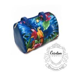 Blue Parrots Duffle Bag